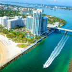 Luxury waterfront condominiums